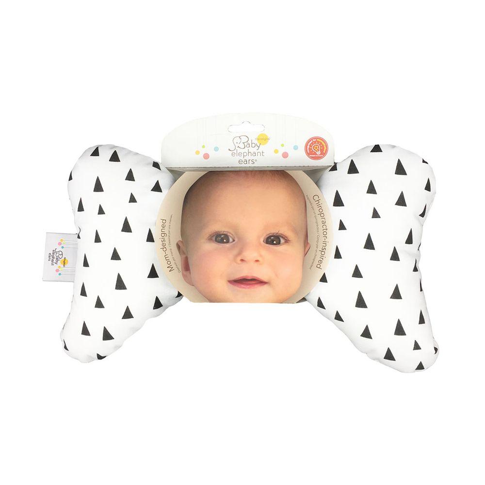 美國 Baby elephant ears - 嬰兒護頸枕-三角部落-34.5x20x5cm
