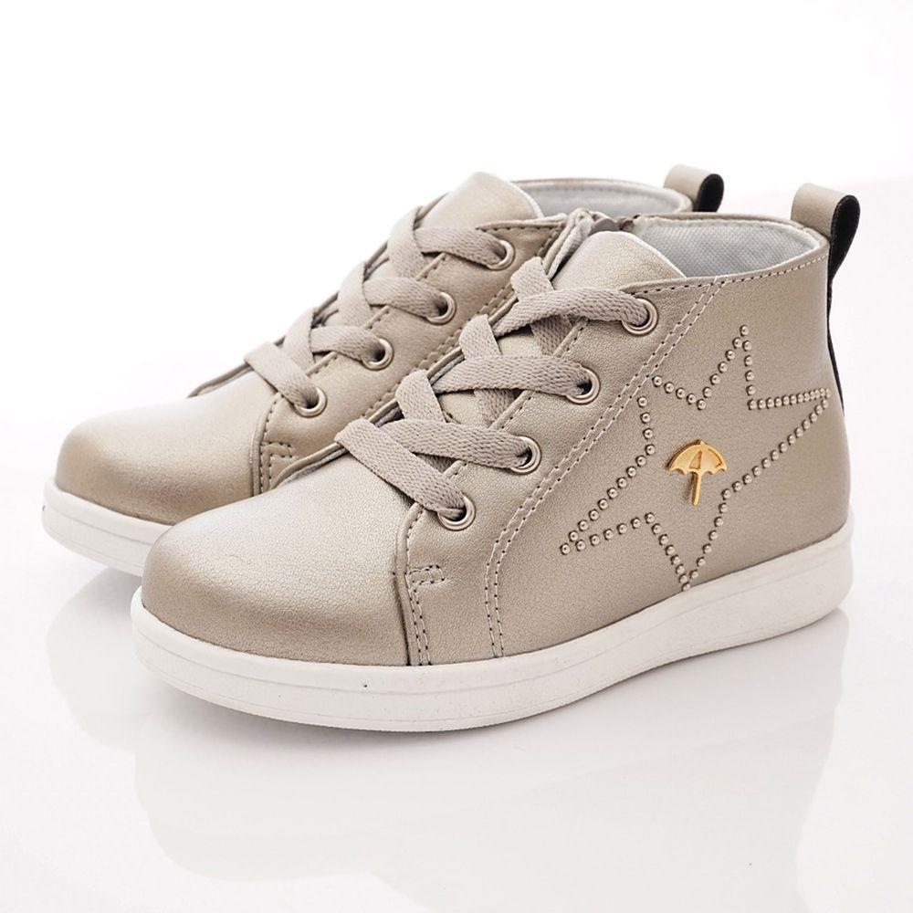 Arnold Palmer 雨傘牌 - 專櫃童鞋-燦星皮質短靴專櫃款(中大童段)-古銅-台碼=尺寸cm
