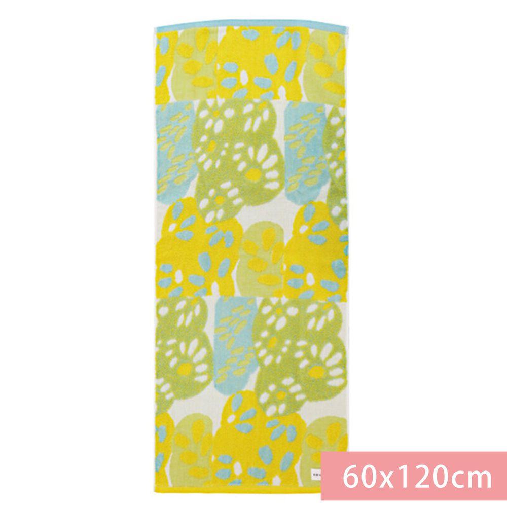 日本代購 - 【SOU·SOU】日本製今治純棉刺繡浴巾-有花 (60x120cm)