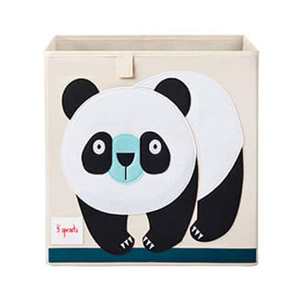 加拿大 3 Sprouts - 收納箱-熊貓