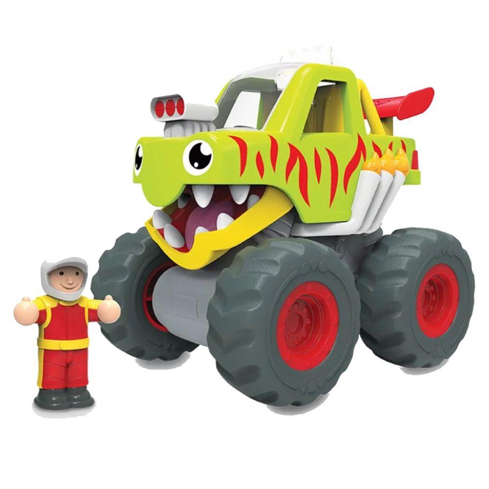 英國驚奇玩具 WOW Toys - 怪獸卡車 馬克