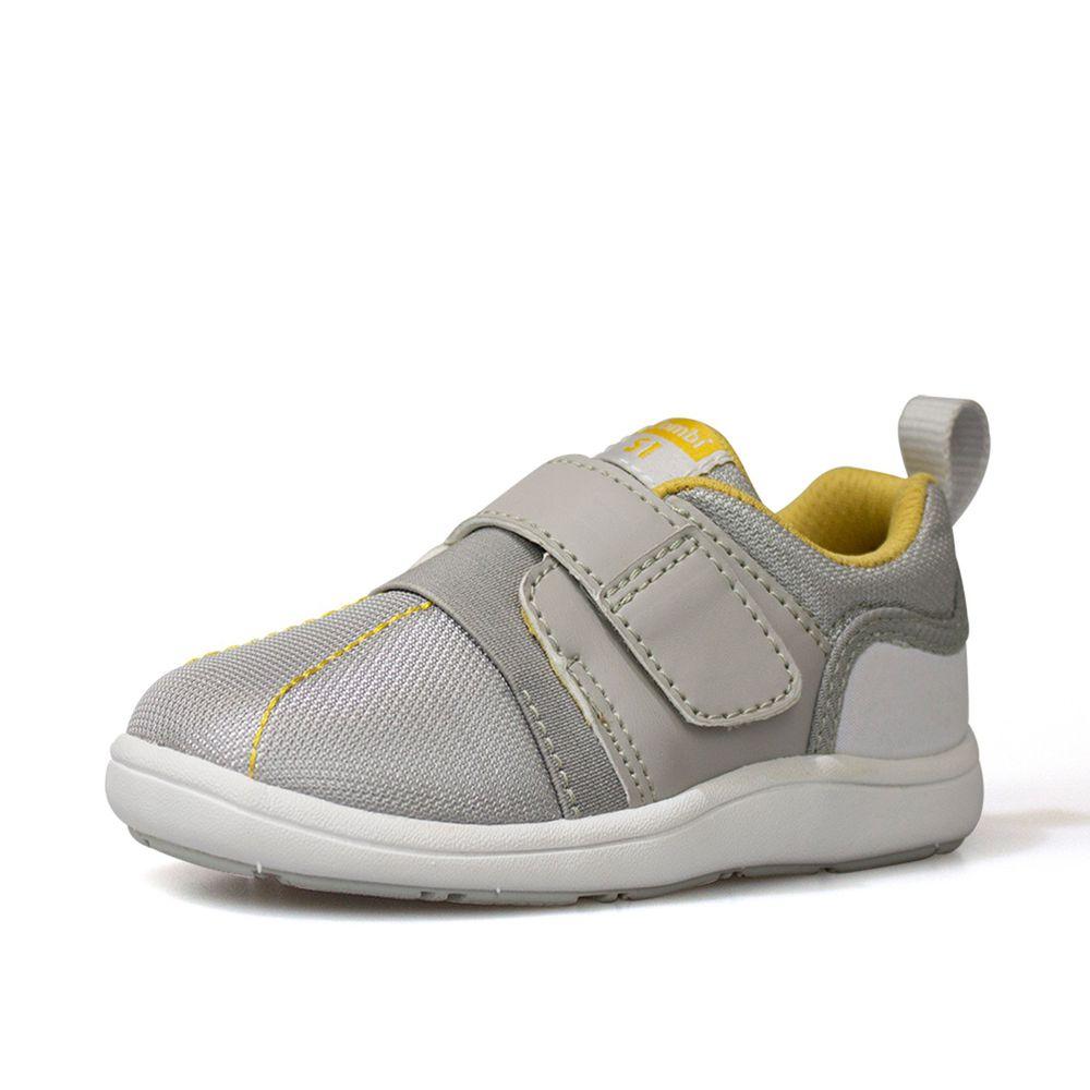 日本 Combi - 機能童鞋/學步鞋-NICEWALK 醫學級成長機能鞋-灰-A01