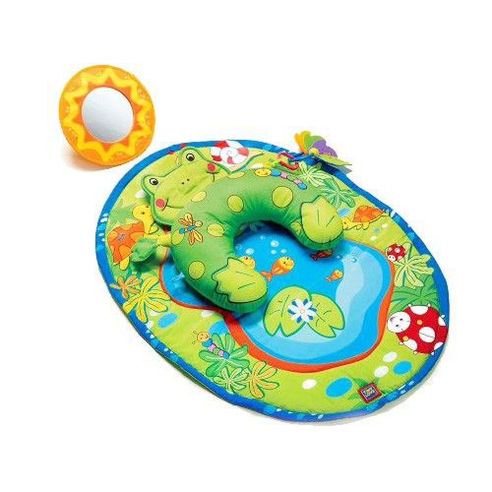 Tiny Love - 青蛙遊艇遊樂毯-小小運動場-綠色 (0M+)