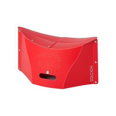 一公分超薄折疊椅-紅色 (M)