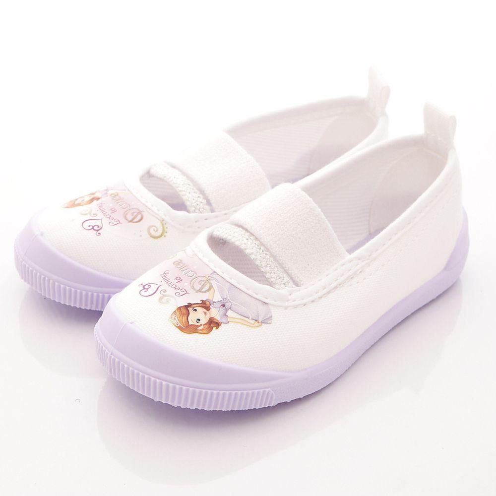 Moonstar日本月星 - 日本月星機能童鞋-日本製蘇菲亞室內鞋防潑水版(中小童段)-紫