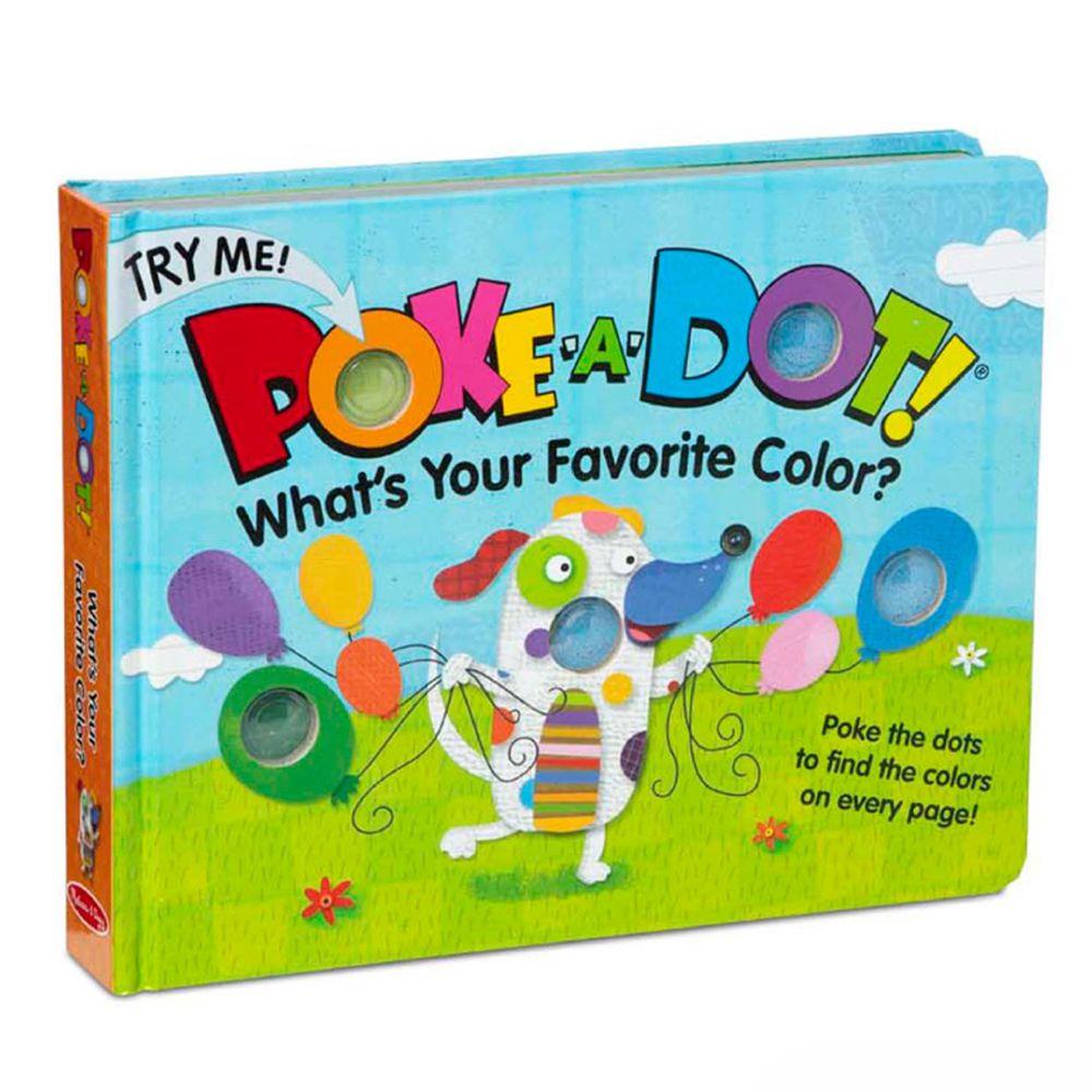 美國瑪莉莎 Melissa & Doug - 神奇泡泡書-我最喜歡的顏色