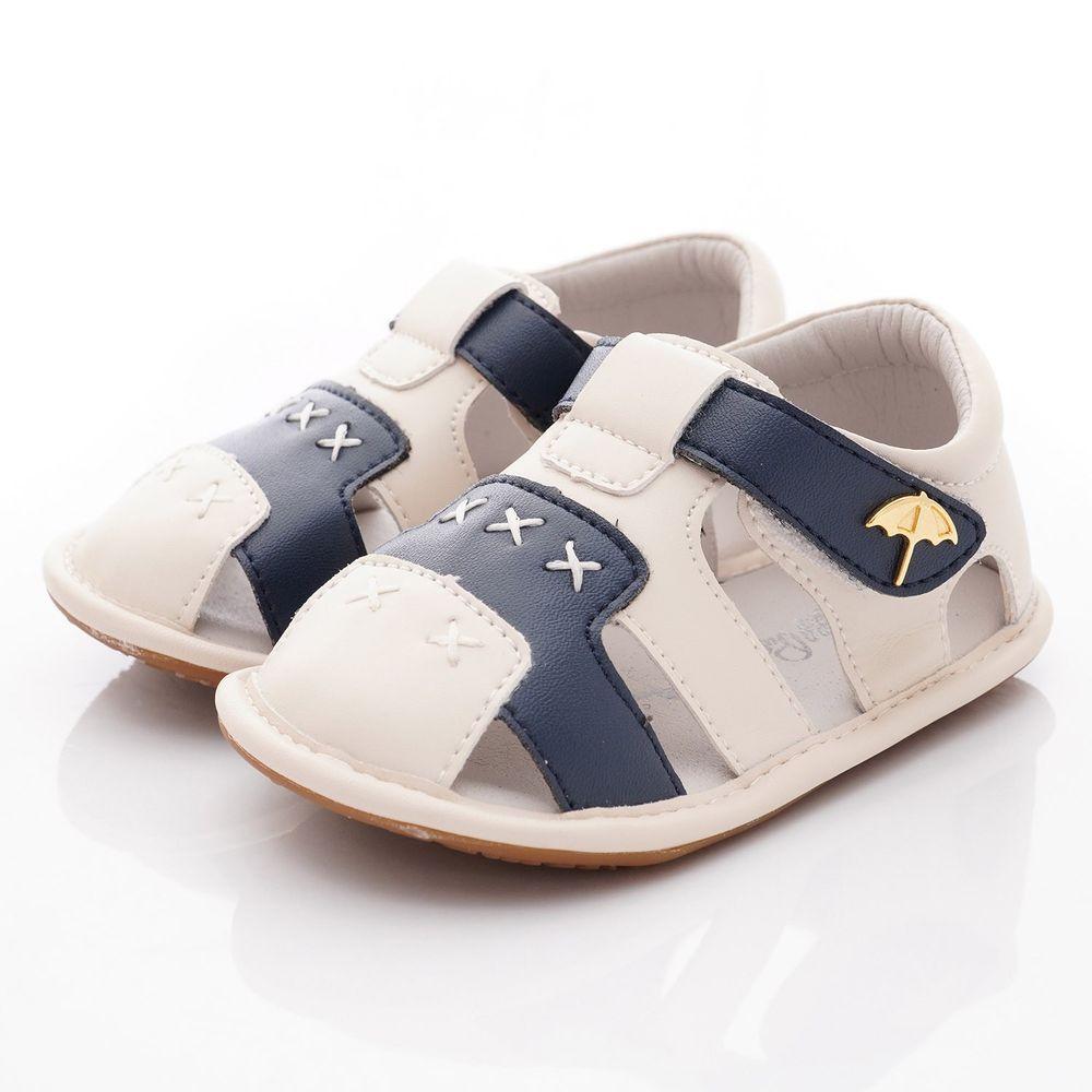 Arnold Palmer 雨傘牌 - 護趾軟軟學步涼鞋款(寶寶段)-藍