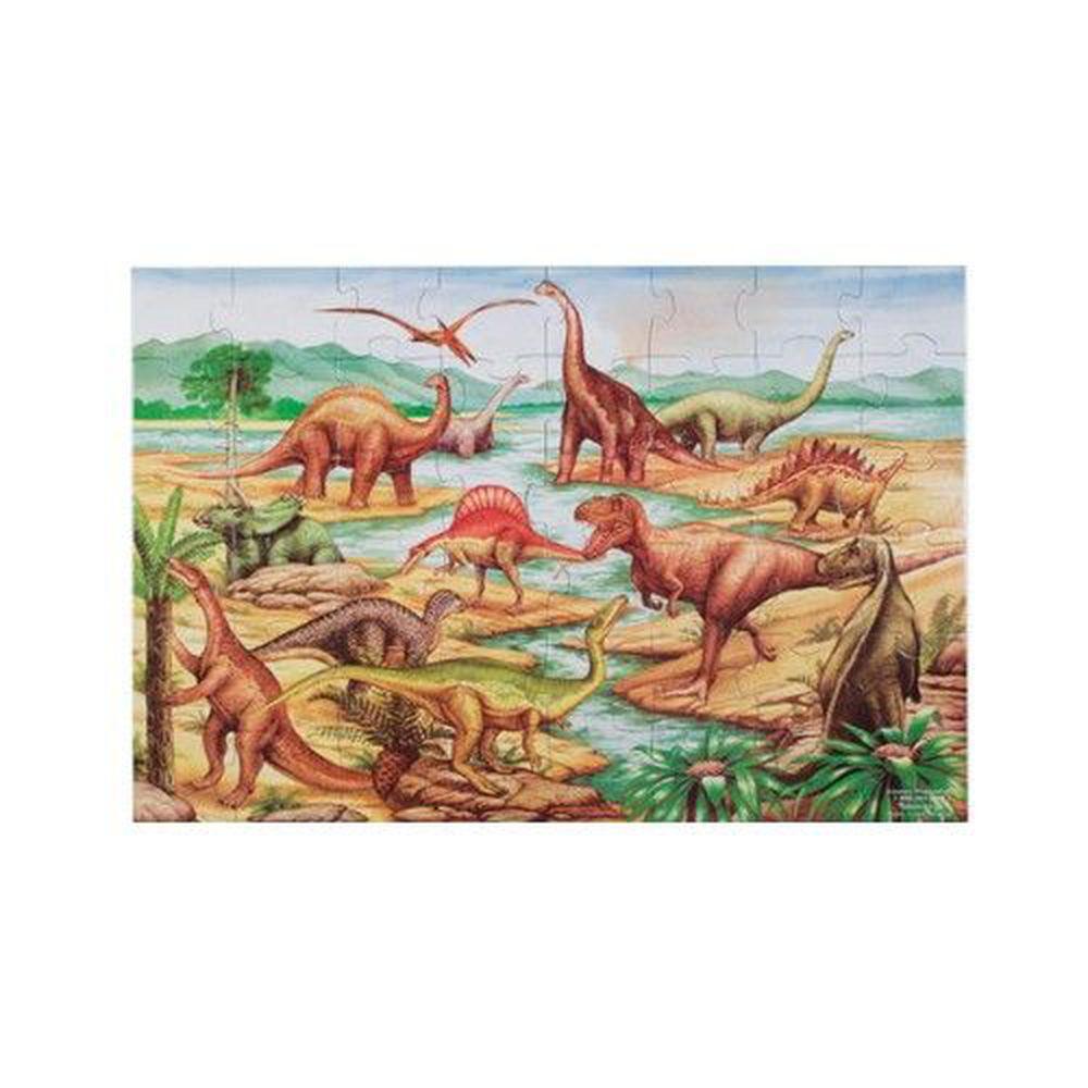 美國瑪莉莎 - MD 地板拼圖-恐龍-48 片