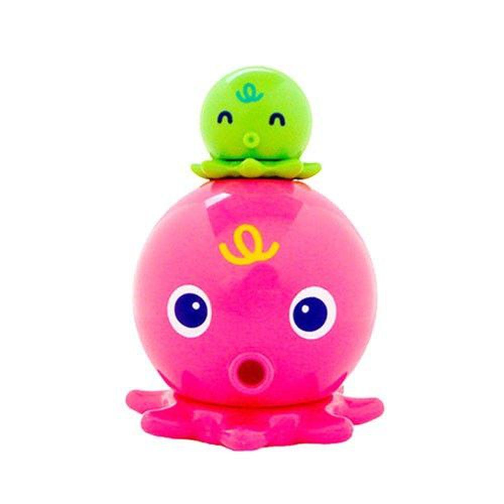 日本 Toyroyal 樂雅 - 洗澡玩具-噴水章魚-1.5歲以上