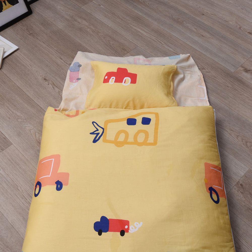 日本濱川佐櫻 - MIT純棉冬夏兩用兒童睡袋-開車趣玩