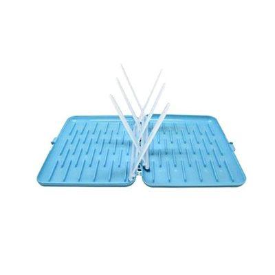 奶瓶餐具晾乾盒-藍莓藍