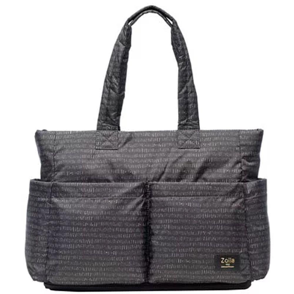 Zoila - 蓋亞托特包新版-線條黑-輕量美型媽媽包
