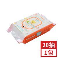 Kuma Kun手口嬰兒柔濕巾20抽 X 1