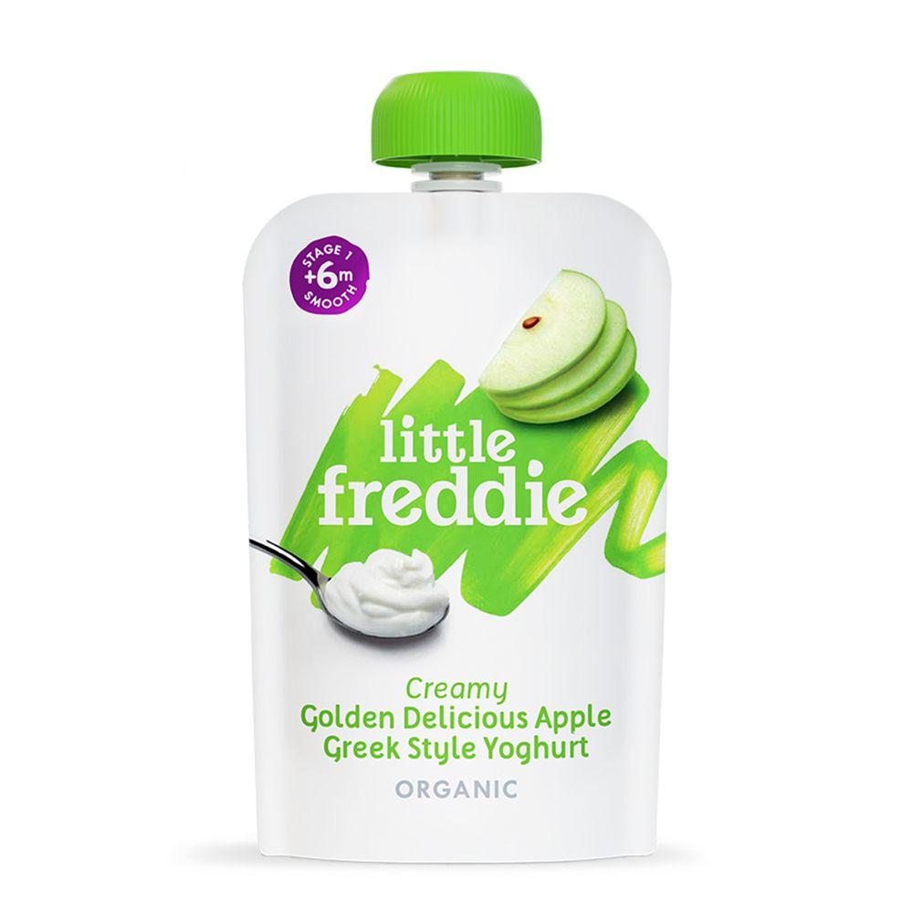 little freddie - 小皮蘋果優格-6個月食用