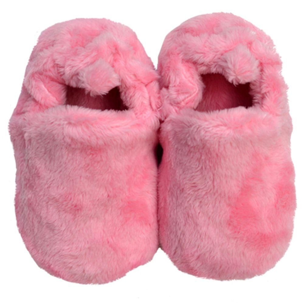 英國 Poconido - 寶寶絨絨鞋/學步鞋-糖果粉