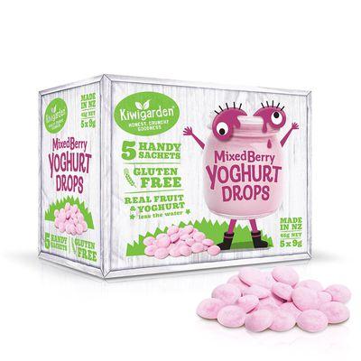 益菌優格豆 新鮮綜合莓果-新鮮綜合莓果/9g/5包/盒
