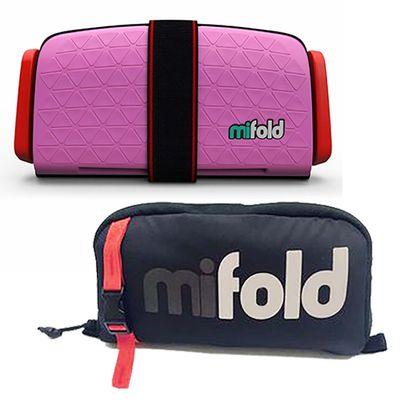 隨身安全座椅 (新款)-超值優惠好康組-粉色/Pink-隨身安全座椅x1+專用收納袋x1