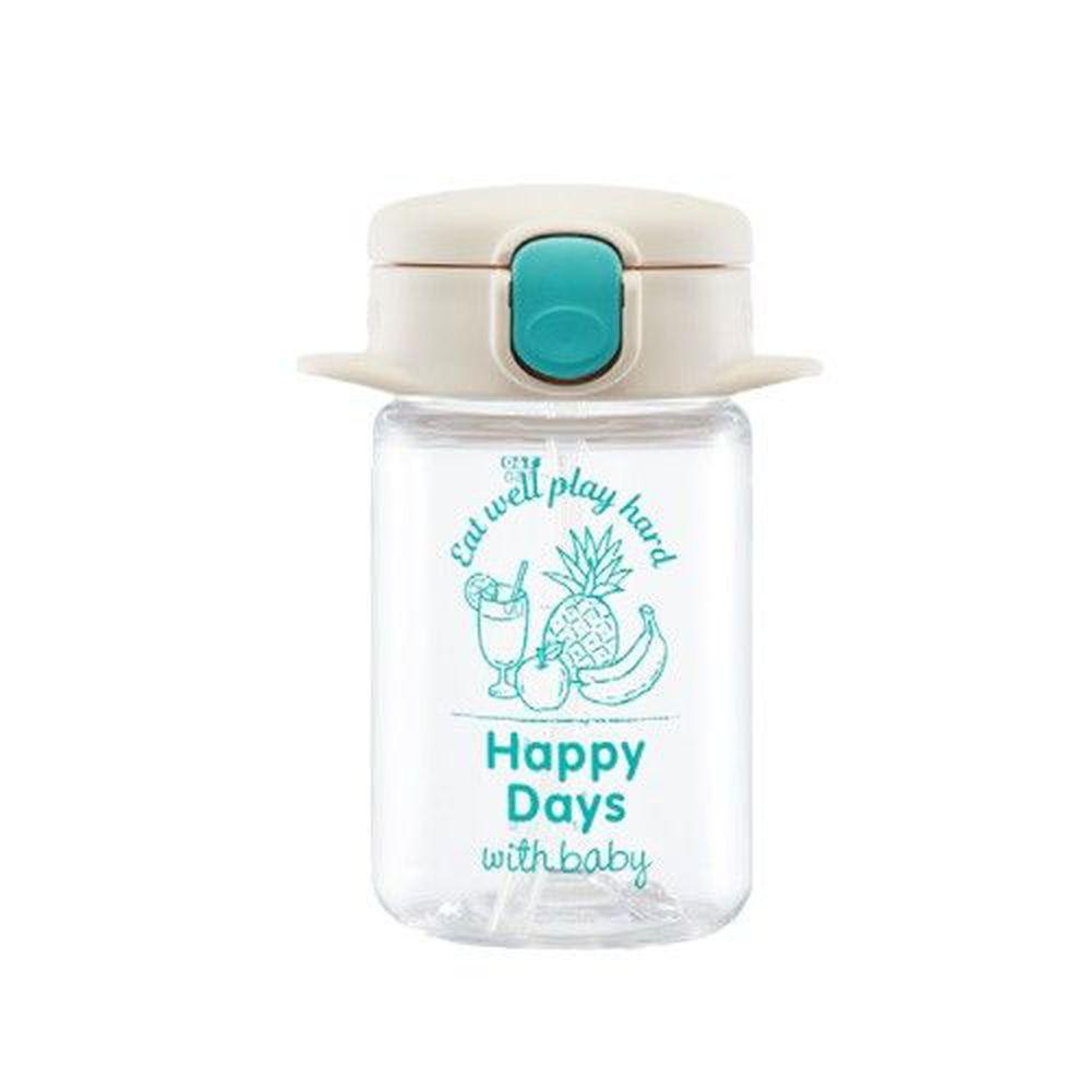 日本 Richell 利其爾 - aqulea Slim mug Tritan 水杯-兒童水壺-水漾果汁-白色-160ml