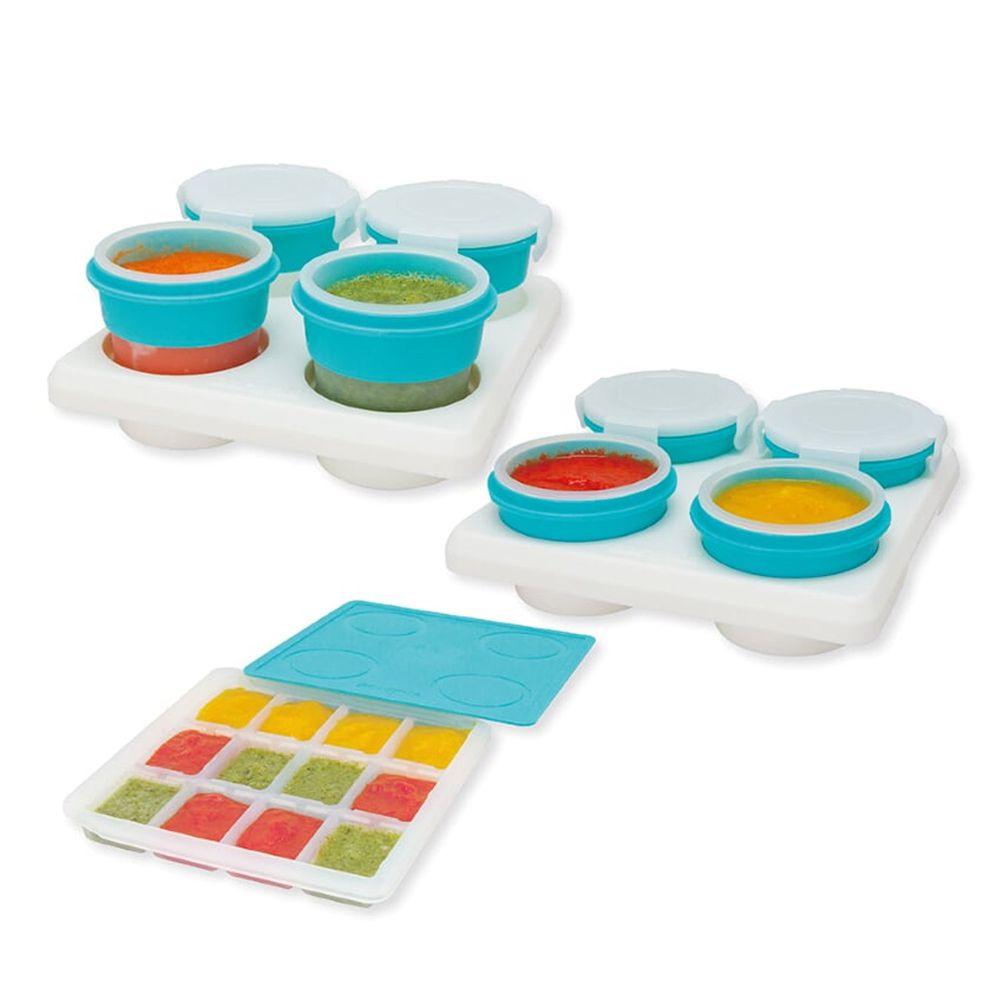 2angels - 矽膠副食品零食儲存系列-15ml+60ml+120ml