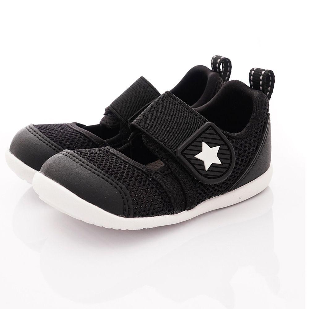Moonstar日本月星 - HI系列快速乾燥機能童鞋-寶寶段-黑