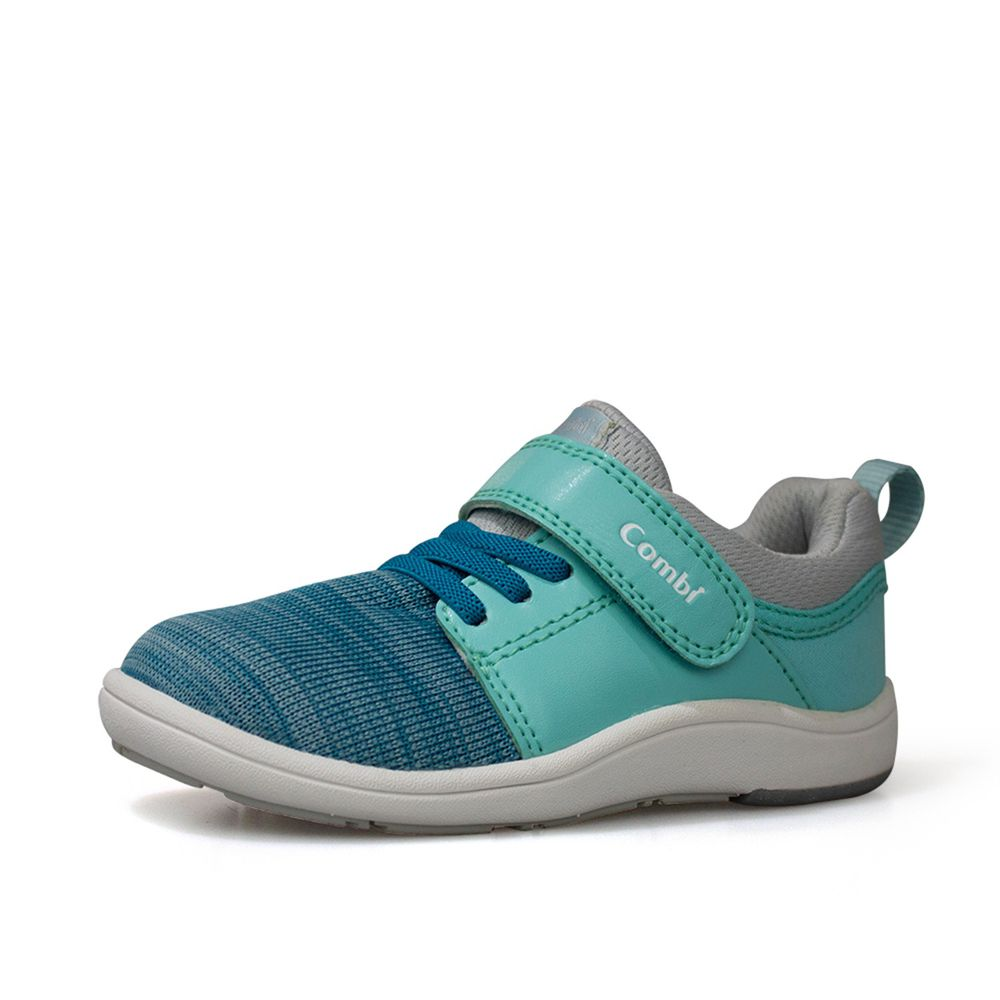 日本 Combi - 機能童鞋/學步鞋-NICEWALK 醫學級成長機能鞋-綠-A03