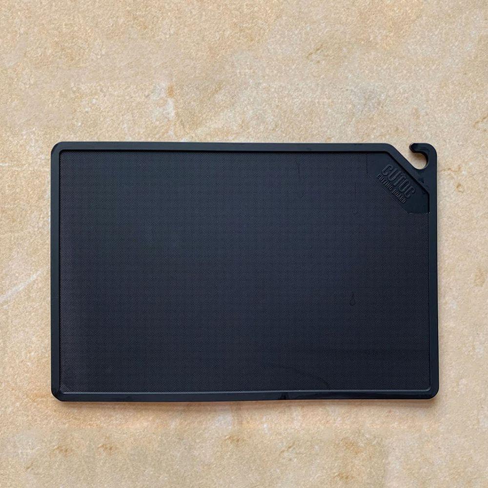 日本 CB JAPAN - CUTOC mini TPU防霉抗菌砧板-時尚黑 (W16xD24xH0.4cm)
