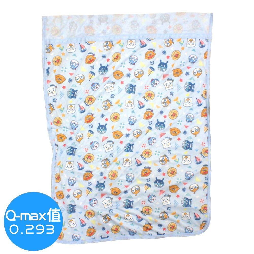日本代購 - 麵包超人接觸冷感毯子-水藍 (85x115cm)