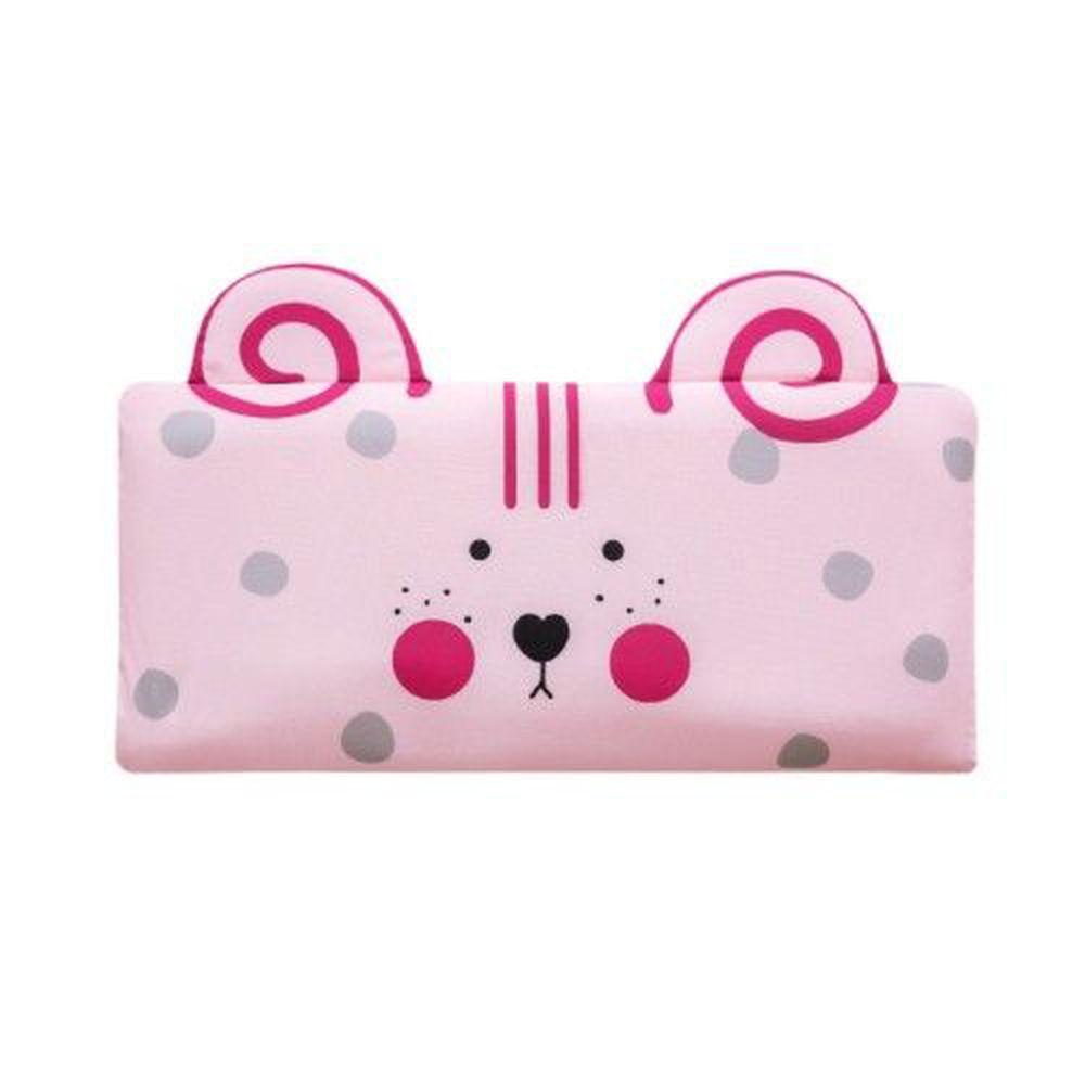 韓國 Bonitabebe - 3D Air Mesh 三段式可調高兒童涼枕-腮紅小鼠 (59*29cm)-3D Air Mesh填充枕3個+枕頭套1個
