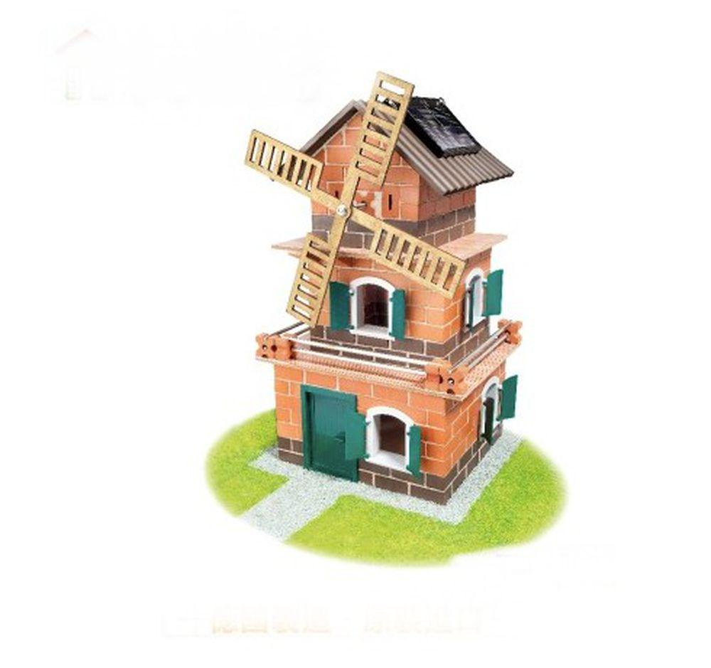 德國 teifoc - 【新品】益智磚塊建築玩具-日式太陽能別墅