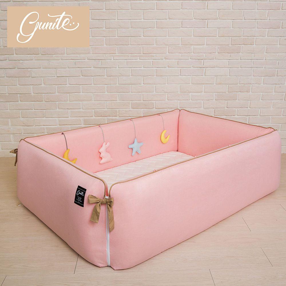 gunite - 沙發嬰兒床_安撫陪睡式0-6歲-巴黎粉