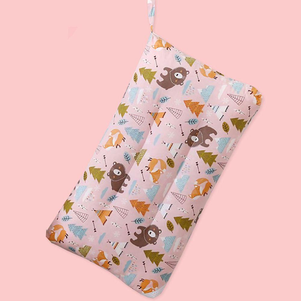 MIGRATORY 媚格德莉 - 純棉可水洗抑菌兒童枕-森林伙伴 (30x50cm)-1入