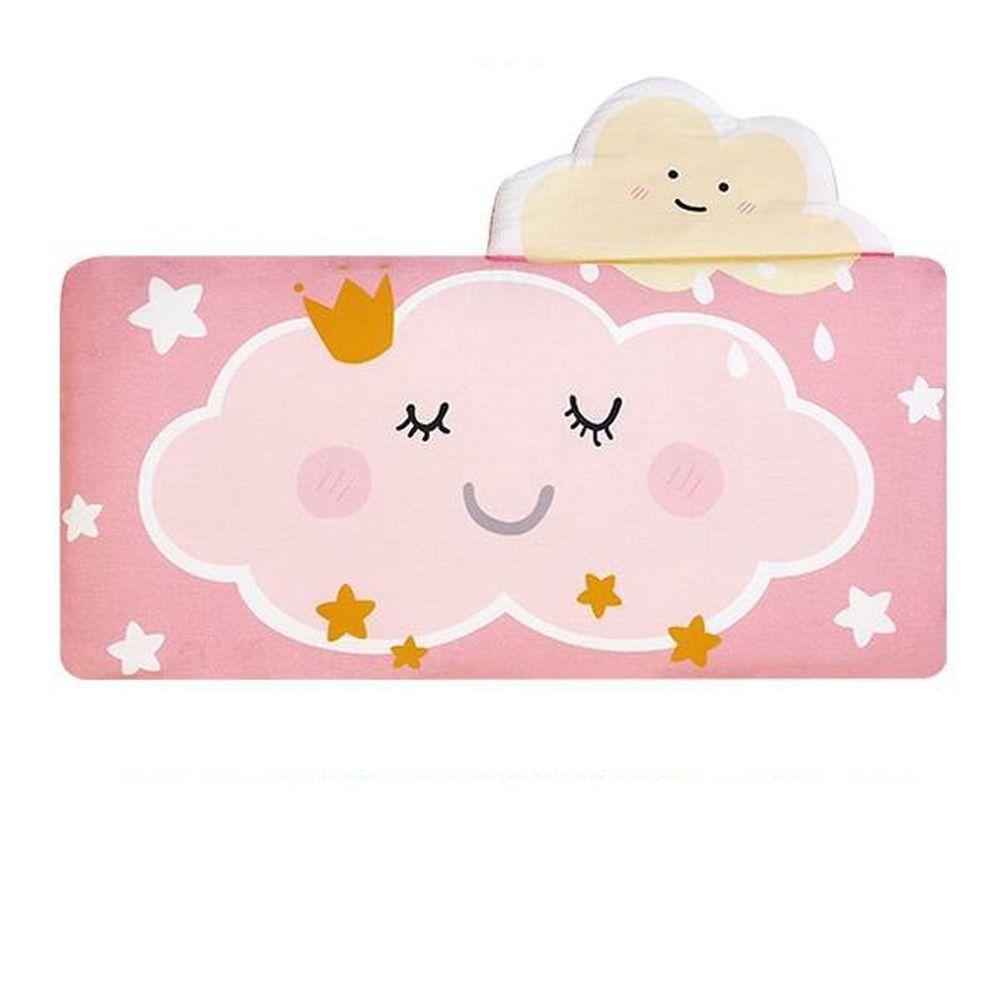 韓國 Bonitabebe - 3D Air Mesh 三段式可調高兒童涼枕-雲朵 (59*29cm)-3D Air Mesh填充枕3個+枕頭套1個
