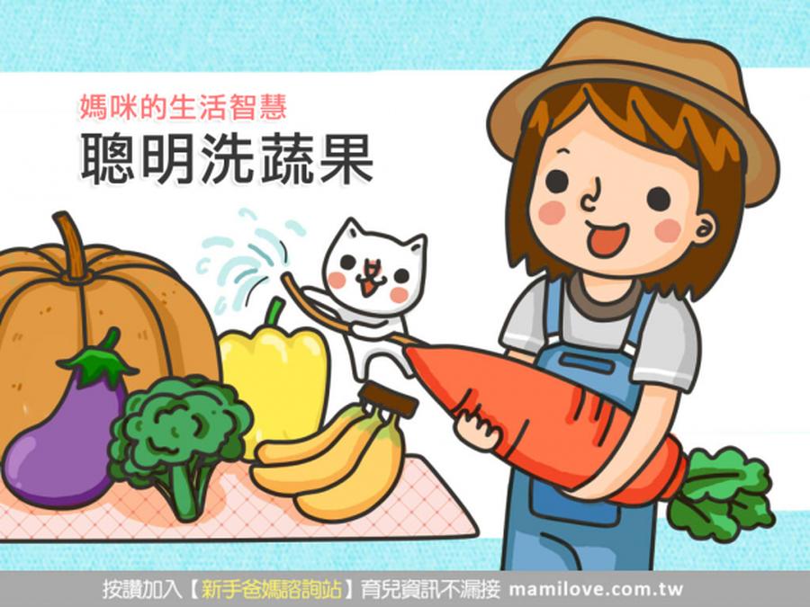 《媽咪的生活智慧》聰明洗蔬果