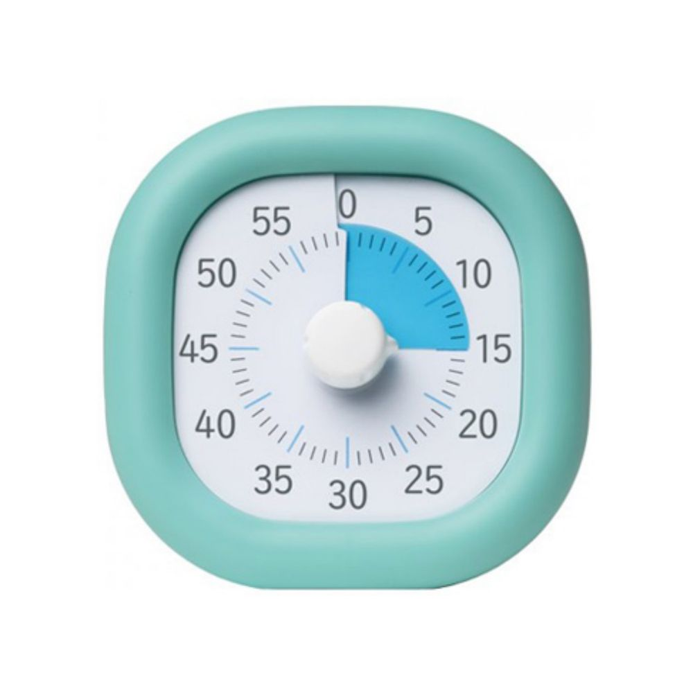 日本 SONIC - 時間流逝實感 倒數時鐘/倒數器-薄荷藍 (10cm)