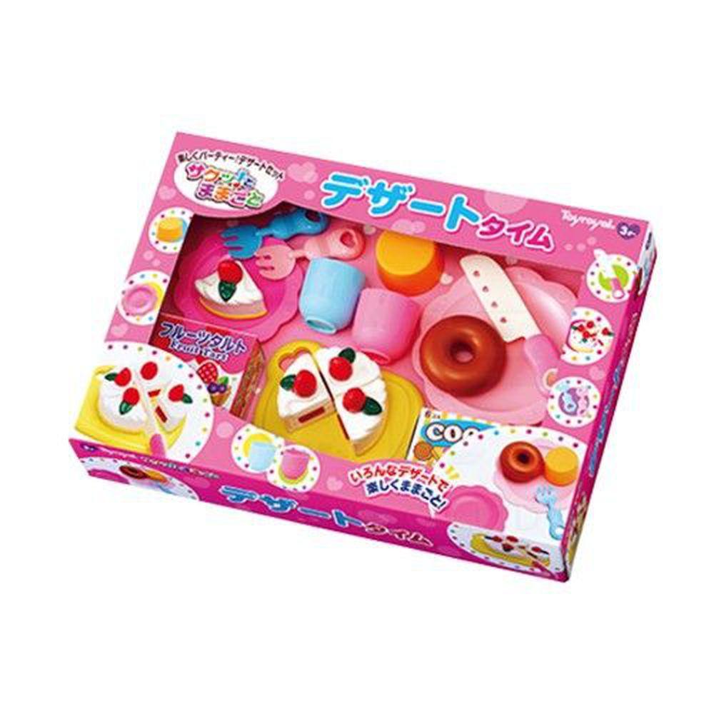 日本 Toyroyal 樂雅 - 切切樂組合-可愛甜心