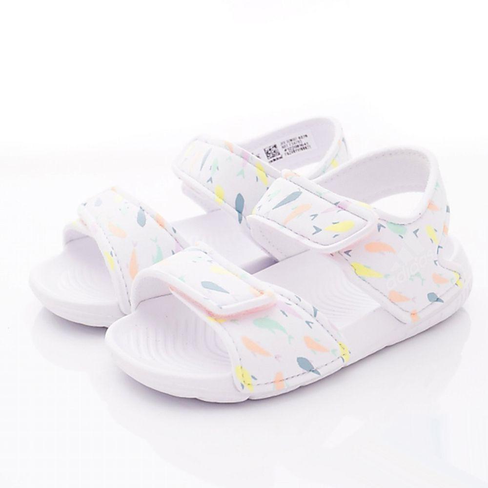 adidas - ADIDAS涼鞋-輕量雙絆帶涼拖鞋(小童款)袋裝-白