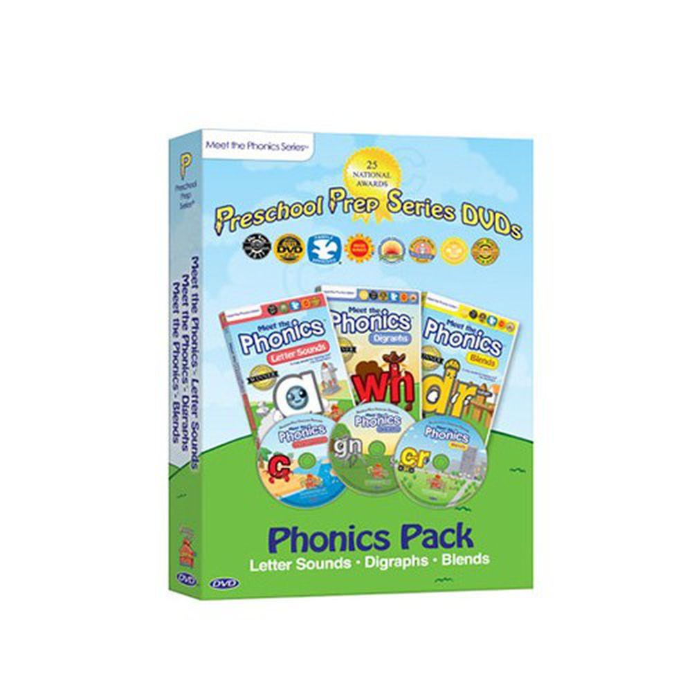 Preschool Prep - 自然發音DVD-3片