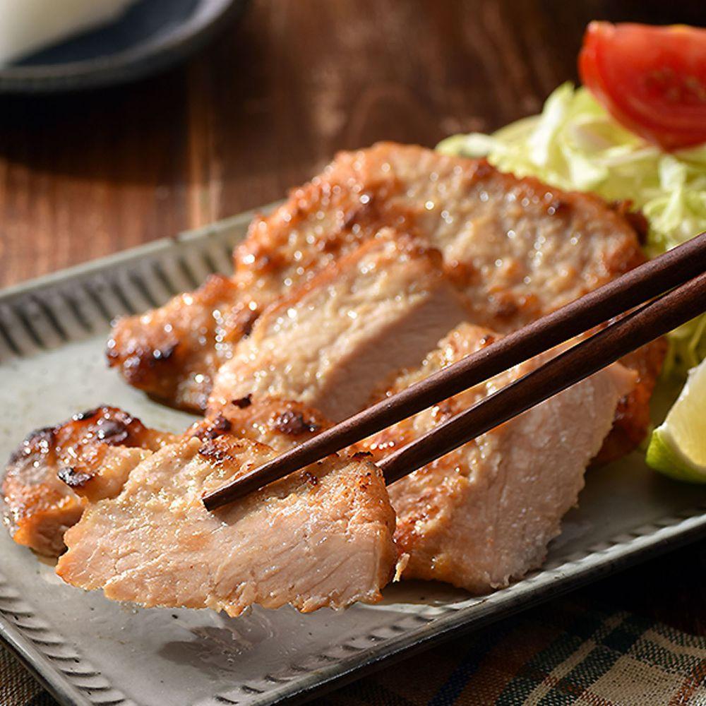 卜蜂 - 醃漬里肌豬排-湖鹽風味(80g)