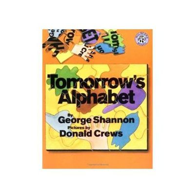 有聲書-TOMORROW'S ALPHABET/書+CD