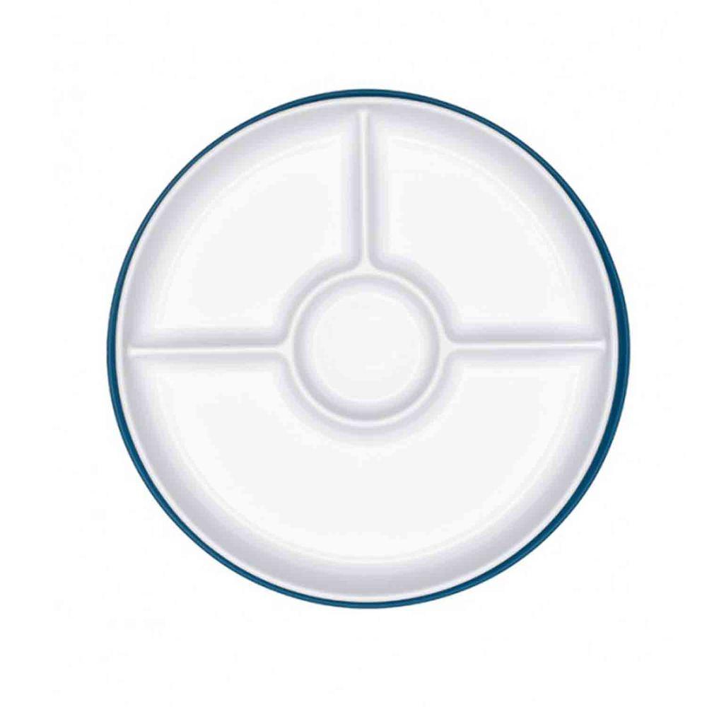 美國 OXO - OXO tot 好吸力分隔餐盤-海軍藍