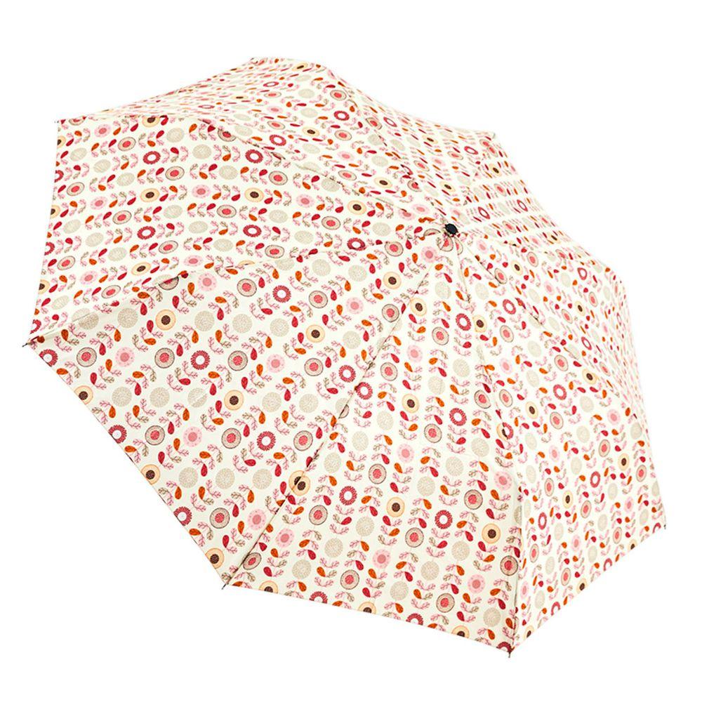 Rainstory - 抗UV雙人自動傘-粉彩花朵-自動開收傘