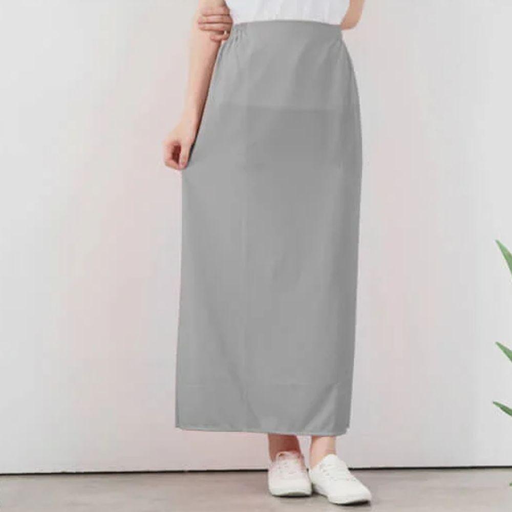 貝柔 Peilou - 3M防曬遮陽裙-素色-淺灰色 (FREE SIZE)
