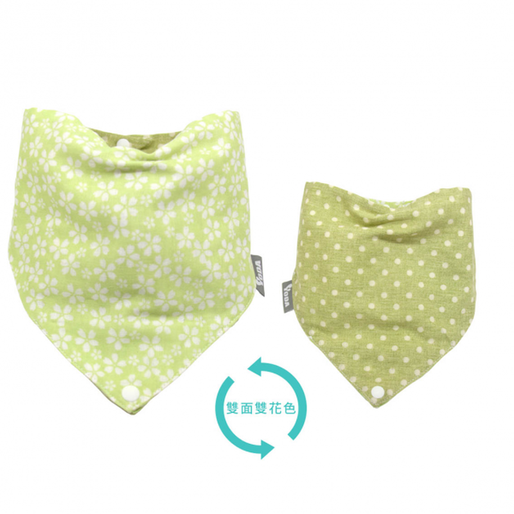 YODA - 和風透氣四層紗扣扣兜-春日櫻花雨