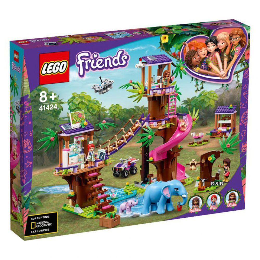 樂高 LEGO - 樂高積木 LEGO《 LT41424 》Friends 姊妹淘系列 - 叢林救援基地-648pcs