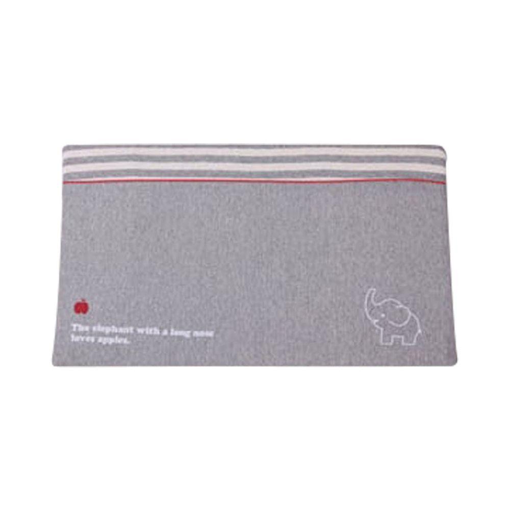 JoyNa - 孕婦側睡枕 嬰兒防吐奶枕(枕套可拆洗)-灰色小象 (58*35*7cm)