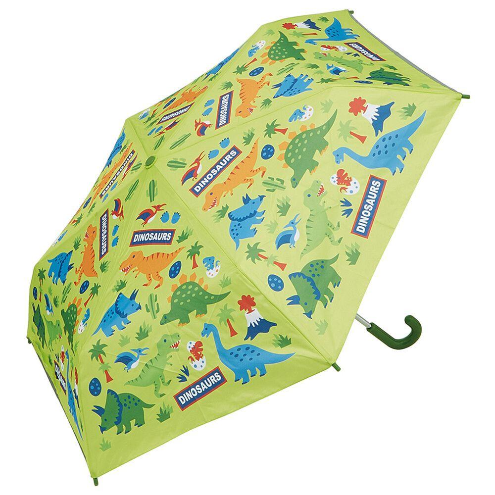 日本 SKATER 代購 - 兒童折疊傘(附安全反光貼條)-侏羅紀世界 (53cm(125cm以上))