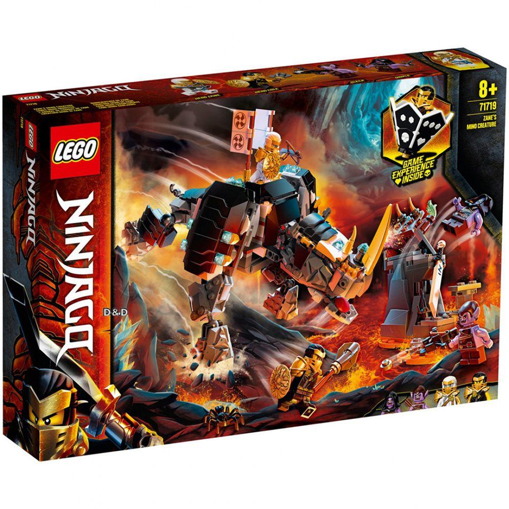 樂高 LEGO - 樂高積木 LEGO《 LT71719》 NINJAGO 旋風忍者系列 - 冰忍的牛角騎獸-616pcs