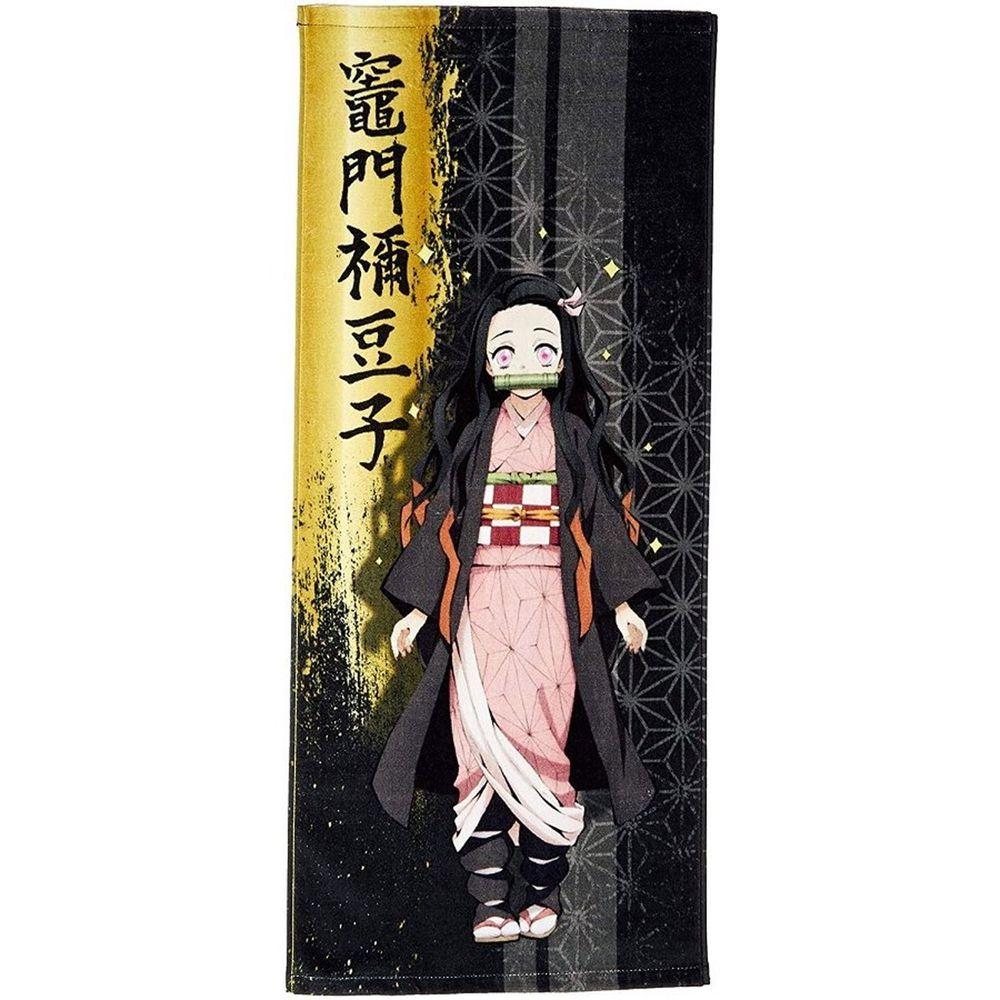 日本代購 - 鬼滅之刃 純棉毛巾-竈門禰豆子 (34x80cm)