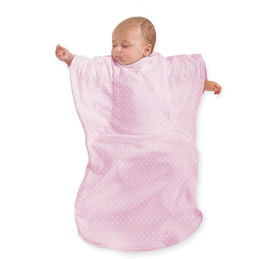 Summer Infant - 蝴蝶背心睡袋-粉紅點點 (加大)-適用年齡:9個月以上嬰幼兒