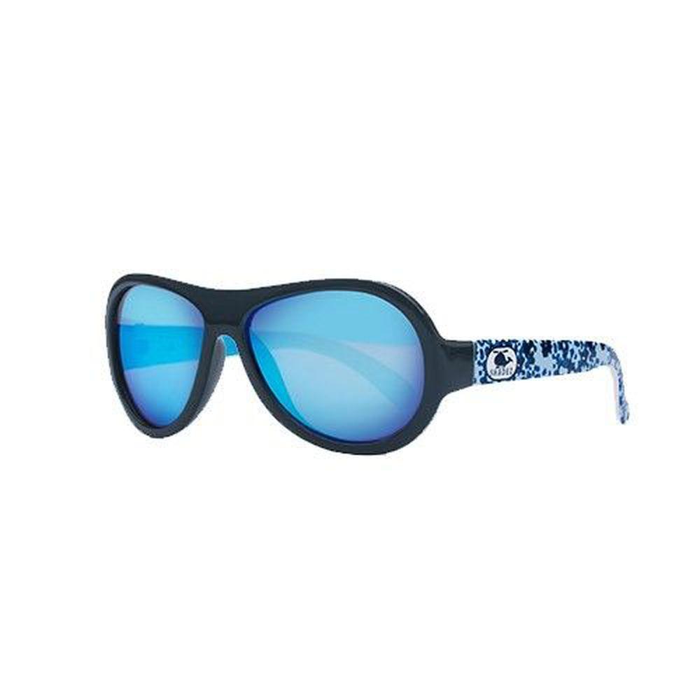 SHADEZ - 可彎折嬰幼兒時尚太陽眼鏡-深藍迷彩 (3Y~7Y)
